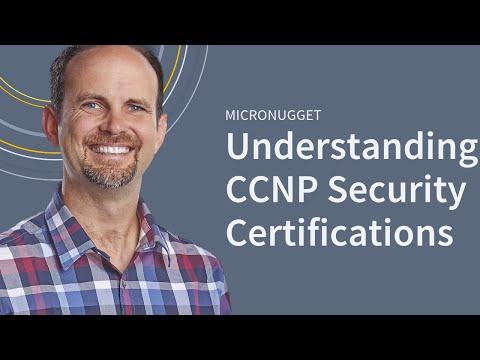 Understanding the Cisco CCNP Security Certification - YouTube