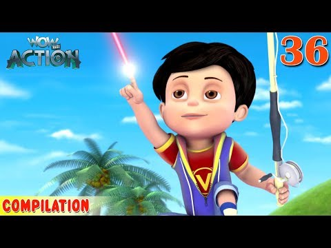 Vir : The Robot Boy | Vir Action Collection - 36 | Action series | WowKidz Action