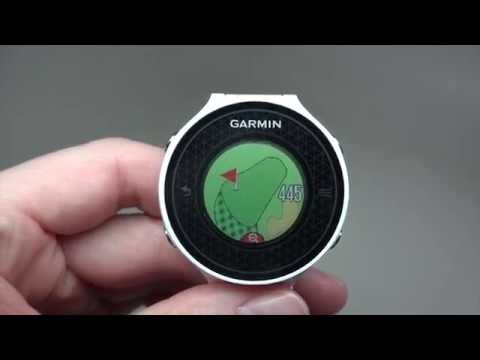 Garmin Approach S6 Men's GPS Golf Watch Review Model: 010-01195-00