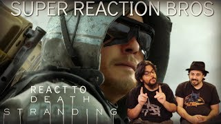 SRB React to Death Stranding - Release Date Reveal Trailer