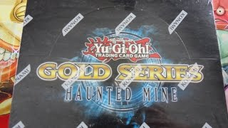 Opening the Best Ever Yugioh Gold Series Haunted Mine Display Box!!