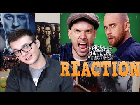 Nice Peter vs EpicLLOYD Epic Rap Battles of History Season Finale Reaction