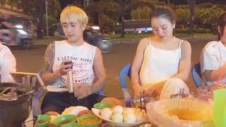 Vì Anh Thương Em - ĐƯỜNG HƯNG hát tặng hot girl Yến Xôi (live lề đường bằng loa kẹo kéo)