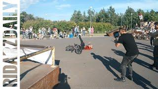 BMX КОНТЕСТ|World first|Сломал ногу|Закрыли