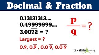 Decimal Fraction (भिन्न और दशमलव) Compi Tricks For SSC, Banking & Railways
