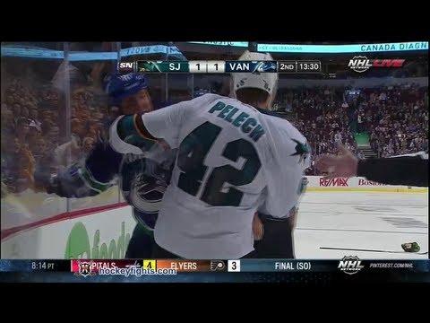 Andrew Alberts vs. Matt Pelech