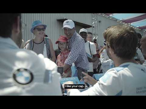 BMW drivers surprise Formula E fans in New York - BMW i Motorsport.