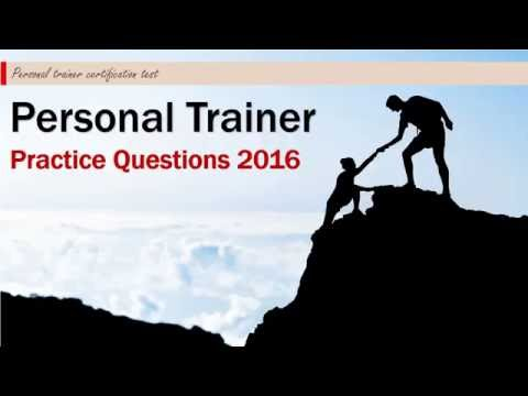 Personal Trainer Practice Questions 2016 - YouTube