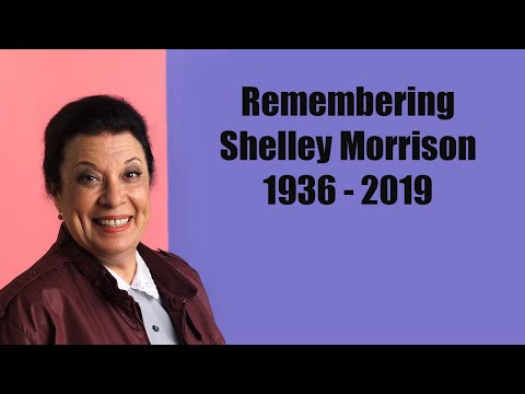 You Will Always Be Remembered Shelley Morrison 1936 - 2019