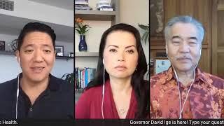 Hawaii Governor David Ige discusses coronavirus updates on COVID-19 Care Conversation