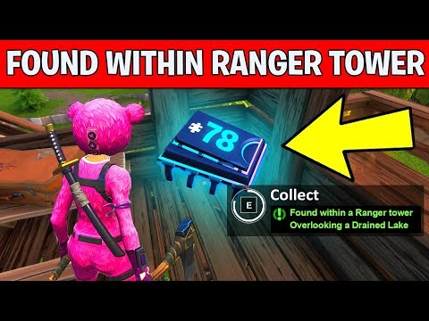 Fortnite Fortbyte 78 Found within a ranger tower overlooking