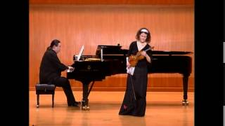 "Viktoria Kaunzner: ""Mysterium"" for violin and piano (2008)"