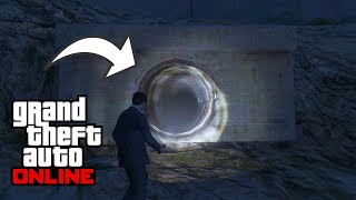 Top 10 Secret Locations In GTA 5 Online (Tunnels/Caves)