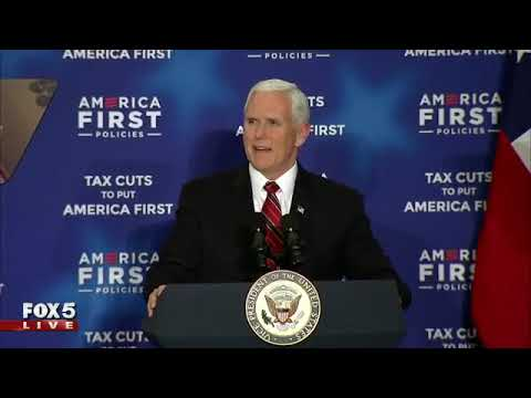 Vice President Mike Pence speaks in Atlanta