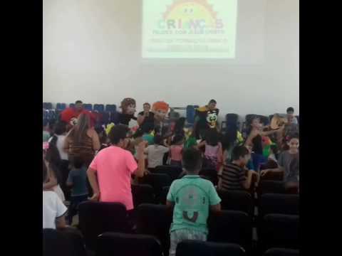 TIA Silvia e Cia festa infantil Assembleia de Deus Maduaneira  em Araguaçu