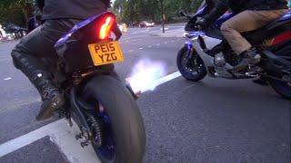 2015 Yamaha R1 BLUE FLAMES! Amazing!