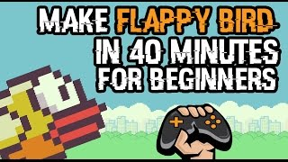 Gamemaker | How To Make Flappy Bird In 40 Minutes Beginner Tutorial
