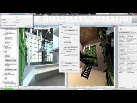 Revit 2017 - Autodesk Raytracer Rendering Engine