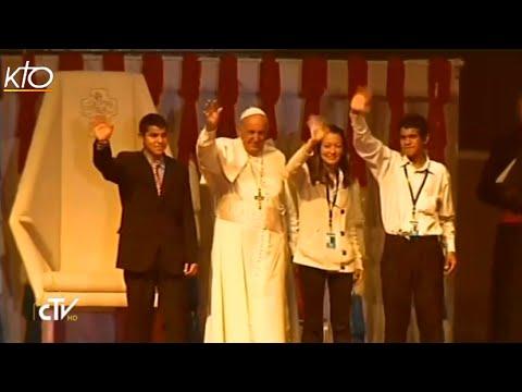 Le Pape rencontre les jeunes du Paraguay