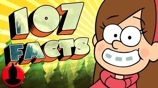 107 Gravity Falls Facts YOU Should Know! (ToonedUp #28) @ChannelFred