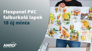 Flexpanel PVC falburkoló lapok - 18 új minta bemutatója