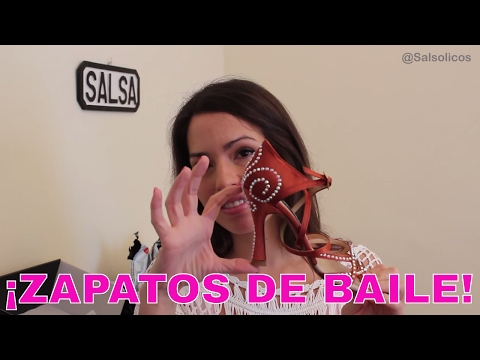 ZAPATOS DE BAILE - SALSA SHOES UNBOXING - SALSA VLOGS
