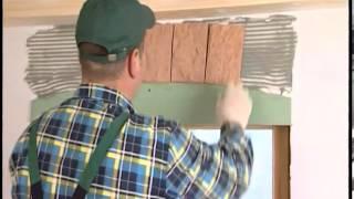 Отделка стен строительными плитами QuickDeck