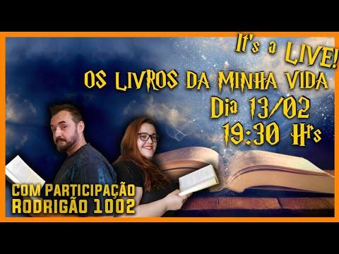Live: Os Livros da Minha Vida feat. Rodrigão 1002 | Li num Livro
