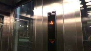 KONE MonoSpace MRL Traction elevator @ Kungsbron 14 (Sthlm Centralstation) Stockholm, Sweden.