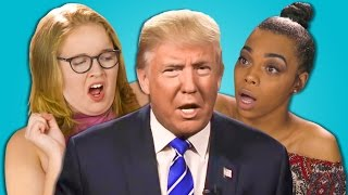 TEENS REACT TO DONALD TRUMP TAPE SCANDAL