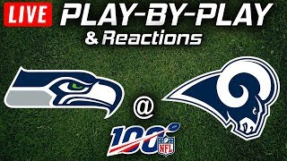 Seahawks vs Rams | Live Play-By-Play & Reactions