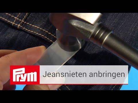 Prym Nieten für Jeans anbringen | Messingnieten aus dem Prym Zubehör