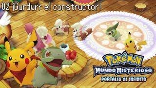 Gurdurr  - (Pokémon) - Pokémon Mundo Misterioso Portales al Infinito #2 ¡Gurdurr el constructor!
