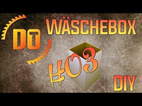 📦 Wäschebox DIY #03