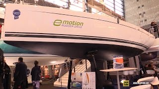 2017 Hanse 315 Sailing Yacht - Deck, Hull And Interior Walkaround - 2016 Salon Nautique Paris