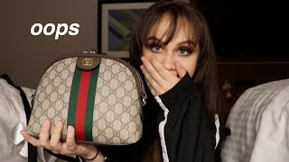 BUYING A GUCCI PURSE (vlog)
