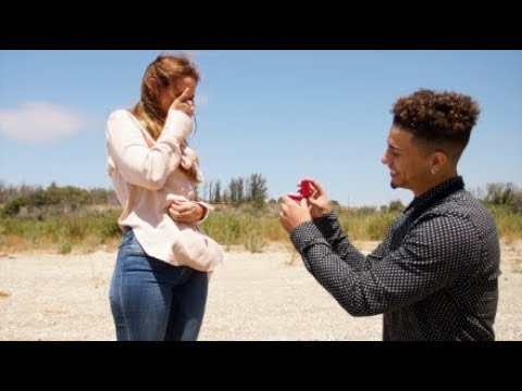 THE BEST PROPOSAL OF ALL TIME!!! (JUMPING OUT OF A PLANE)