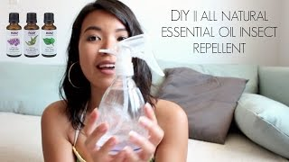 Essential Oil Insect Repellent DIY