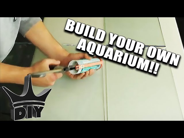 BUILD AN AQUARIUM IN MINUTES!!