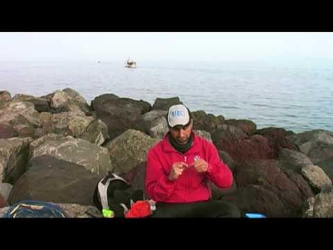 La corda di wattled per pescare di potere pro