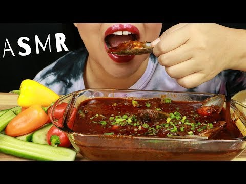 MUSSELS SOAKED IN BLOVES NEW MILD SAUCE W/ CUCUMBERS & SWEET PEPPERS ~ ASMR (No Talking)