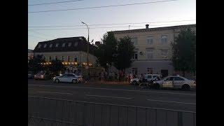 Видео ДТП с участием автомобиля ГИБДД и Мерседеса в Орле (20.06.2018г)