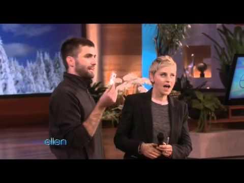 Ellen's Audience Shows Its Talent