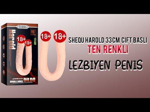Shequ Harold 30 Cm Çift Başlı Ten Rengi Lezbiyen Penis