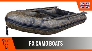 Our FX320 and FX290 inflatable boats are now also available in our