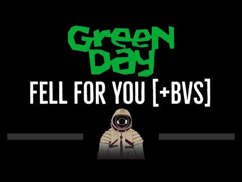 Green Day • Fell For You [+BV] (CC) 🎤 [Karaoke] [Instrumental Lyrics]