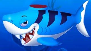 ДОКТОР КИД #2 лечу акулу, осьминожку и других рыбок. Мультяшная игра про морских животных #пурумчата