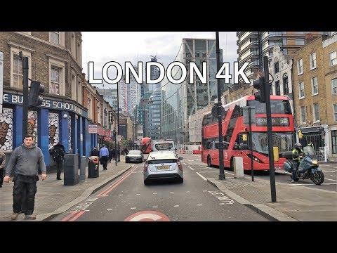 London Drive 4K - City Skyline - UK