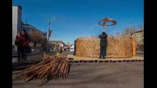 preview picture of video 'Yurt mounting - timelapse 720p'