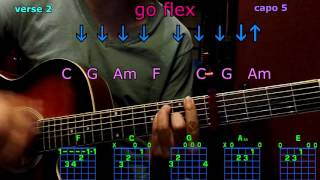 go flex post malone guitar chords